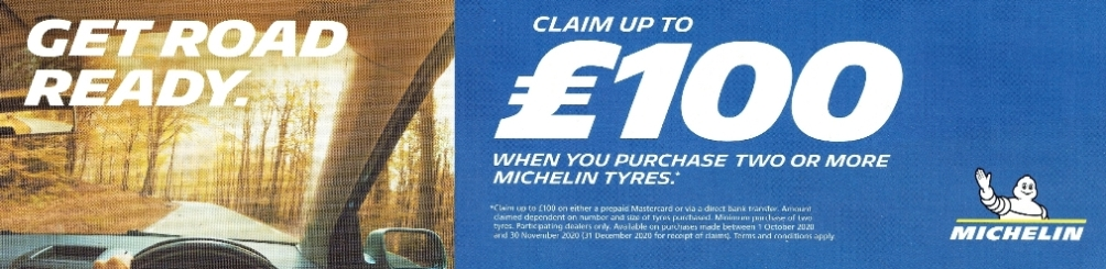 Michelin offer autumn 2020